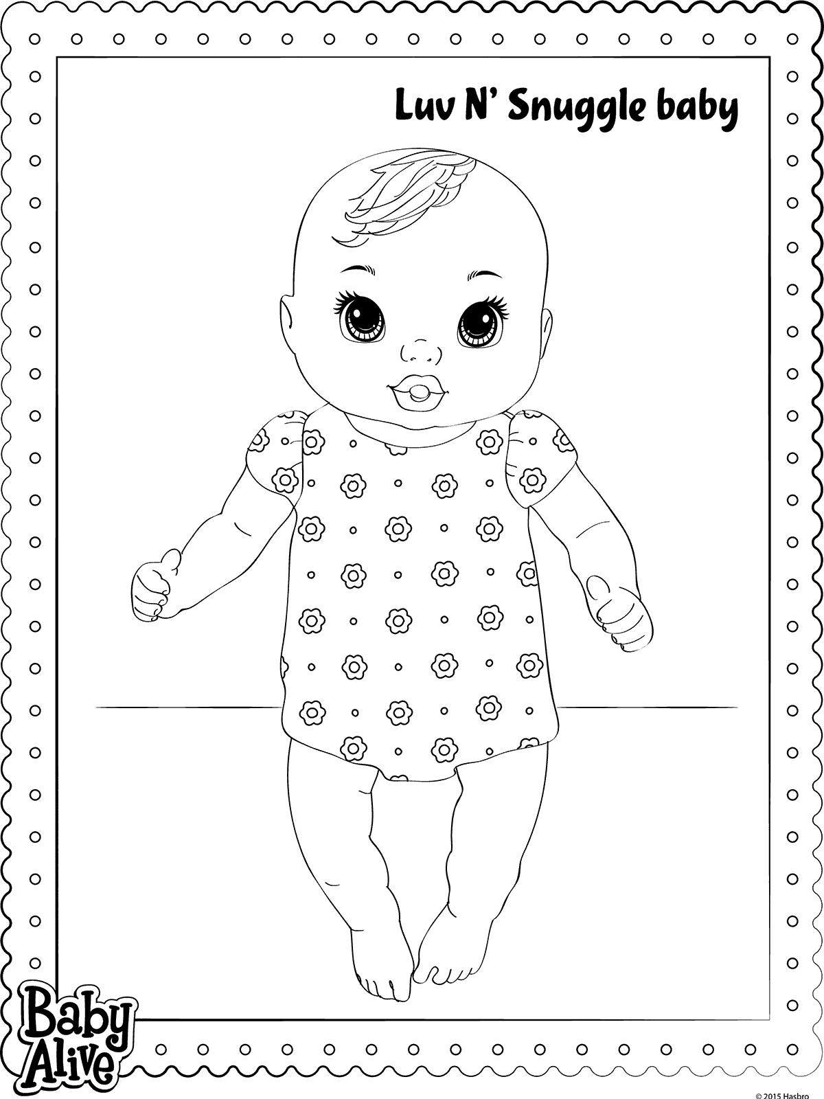 baby alive coloring pages - n coloring pages
