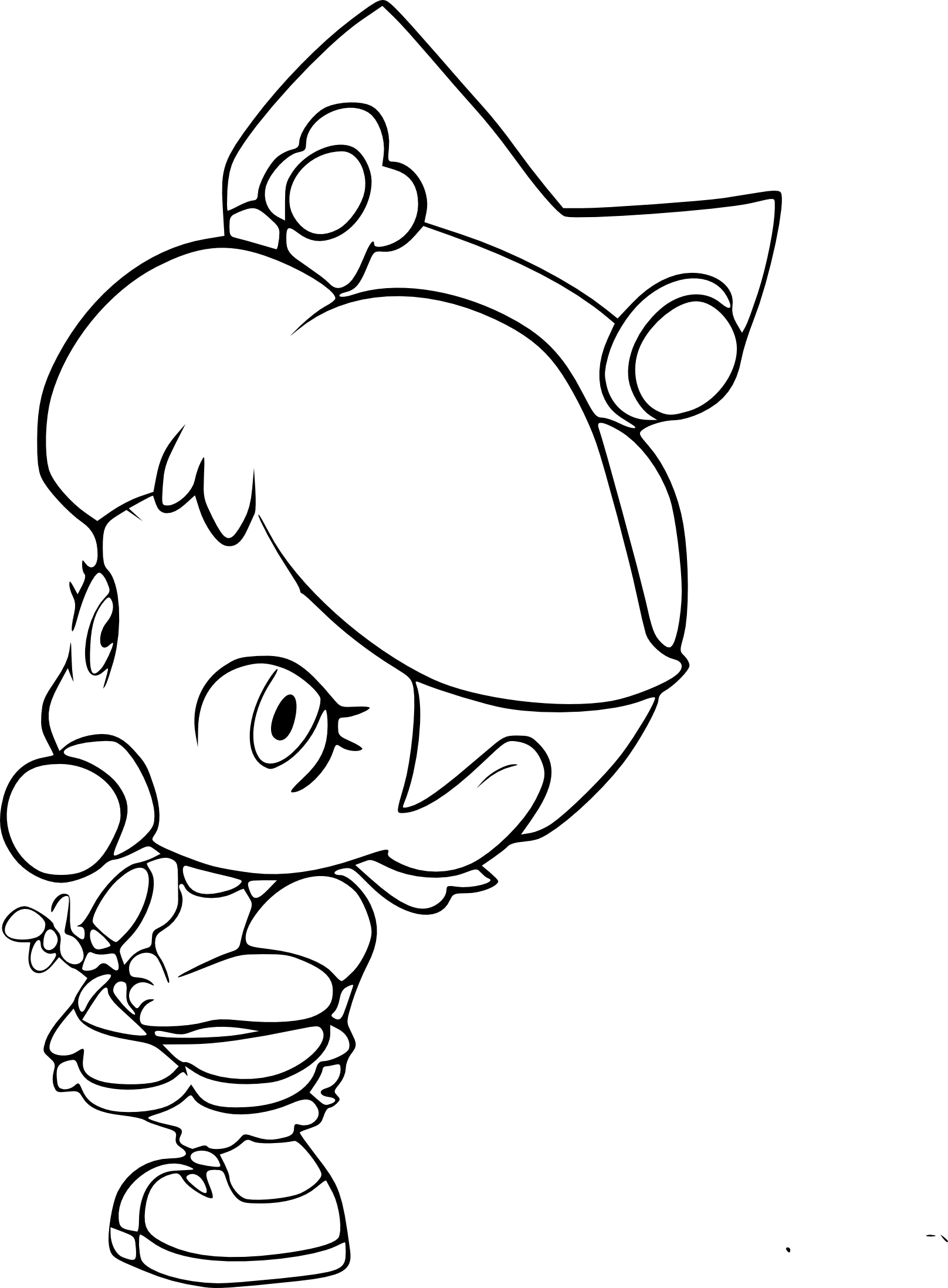 baby disney coloring pages - bebe harmonie