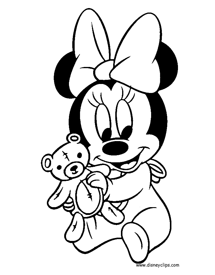 baby disney coloring pages - disneybabiescoloring2
