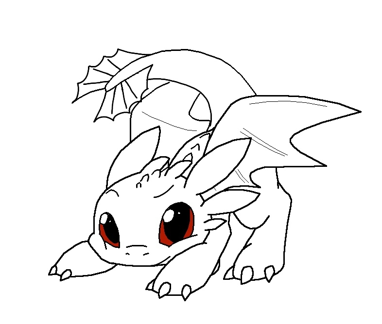 baby dragon coloring pages - simple coloring toothless the dragon coloring pages for toothless dragon coloring pages eassume