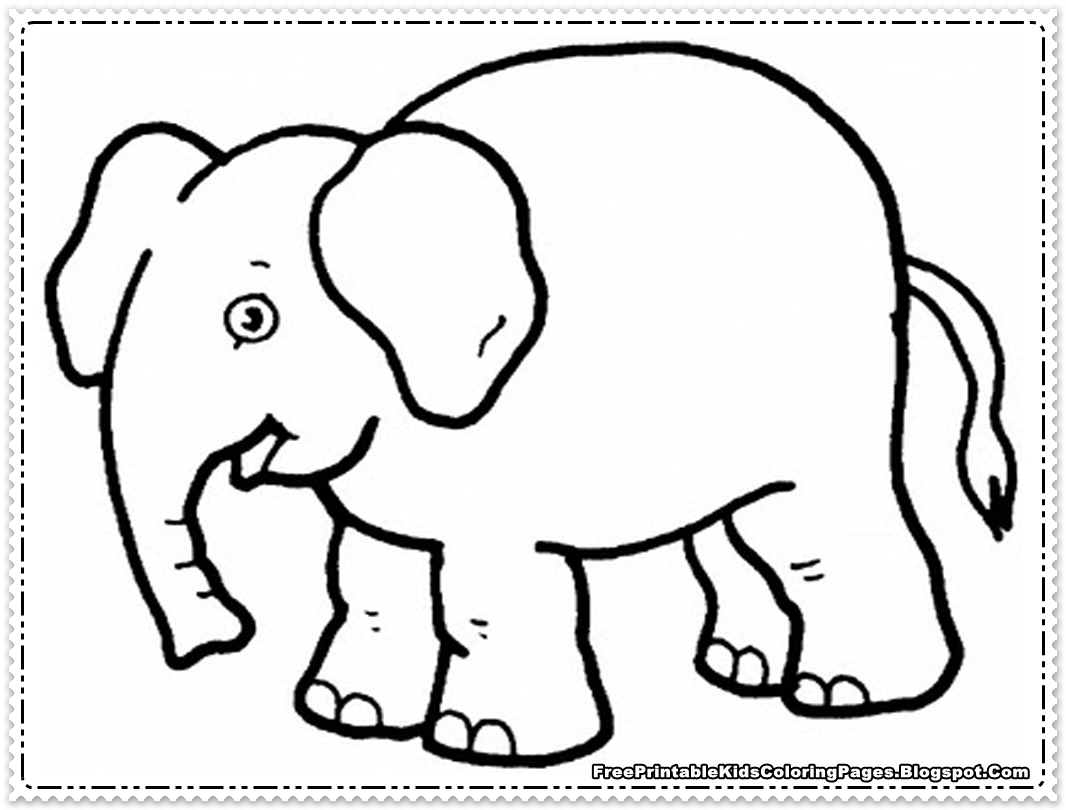 27 Baby Elephant Coloring Pages Images | FREE COLORING PAGES - Part 3