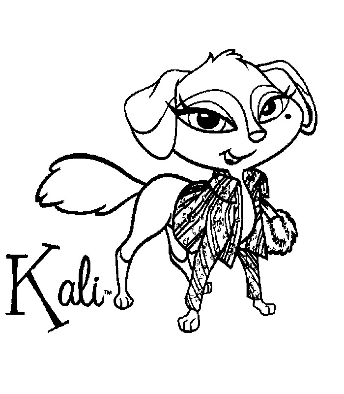 baby fox coloring pages - dettagli id=