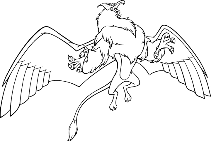 baby fox coloring pages - the griffin