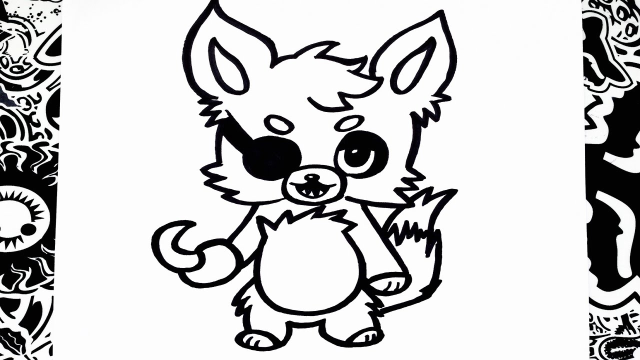 baby fox coloring pages - watch v=VBsuZdNO6g4