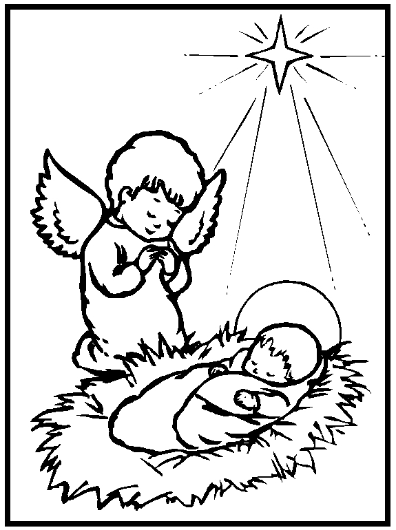 baby jesus coloring pages - 2011 11 13 archive
