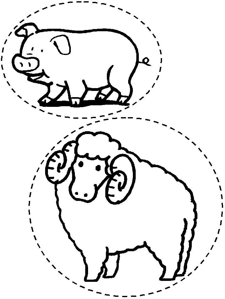 baby moana coloring pages - manger animals coloring pages
