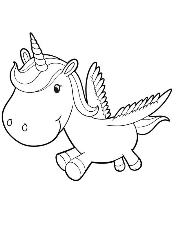 baby unicorn coloring pages - baby unicorn coloring pages