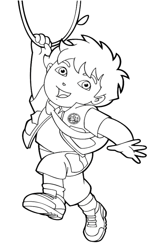 backpack coloring page - go coloring pages