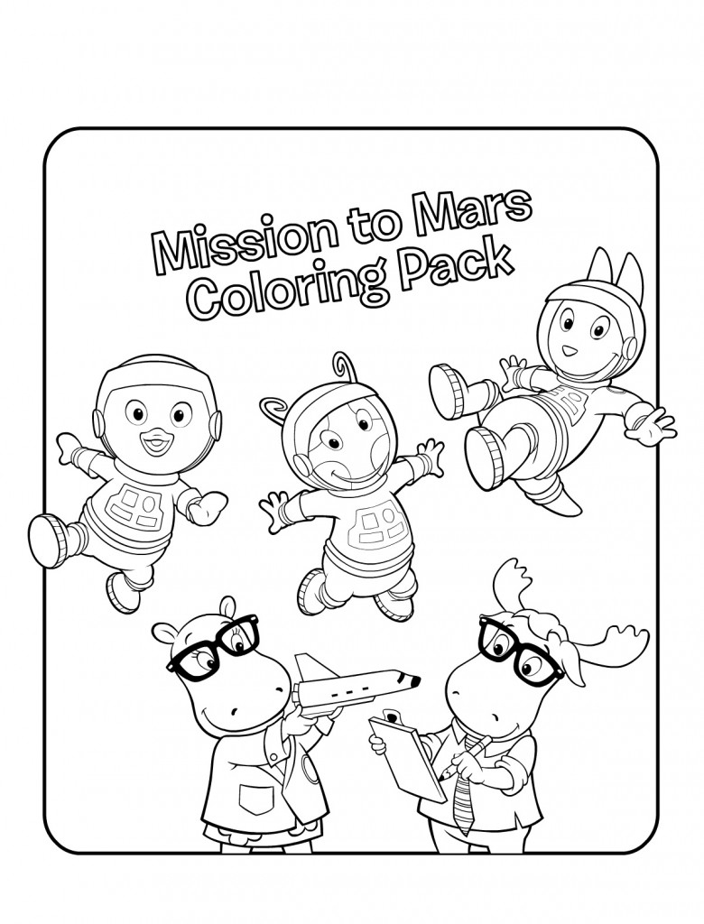 backyardigans coloring pages - backyardigans desenhos para colorir e imprimir