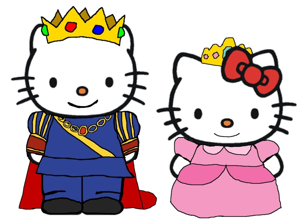 backyardigans coloring pages - prince dear daniel and princess kitty