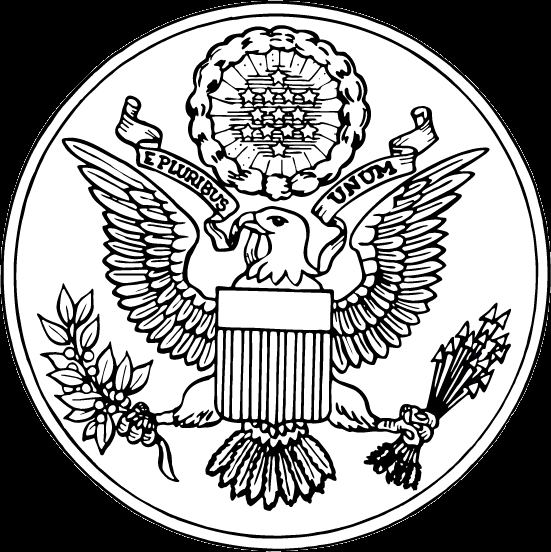 bald eagle coloring page - c44cc34b09