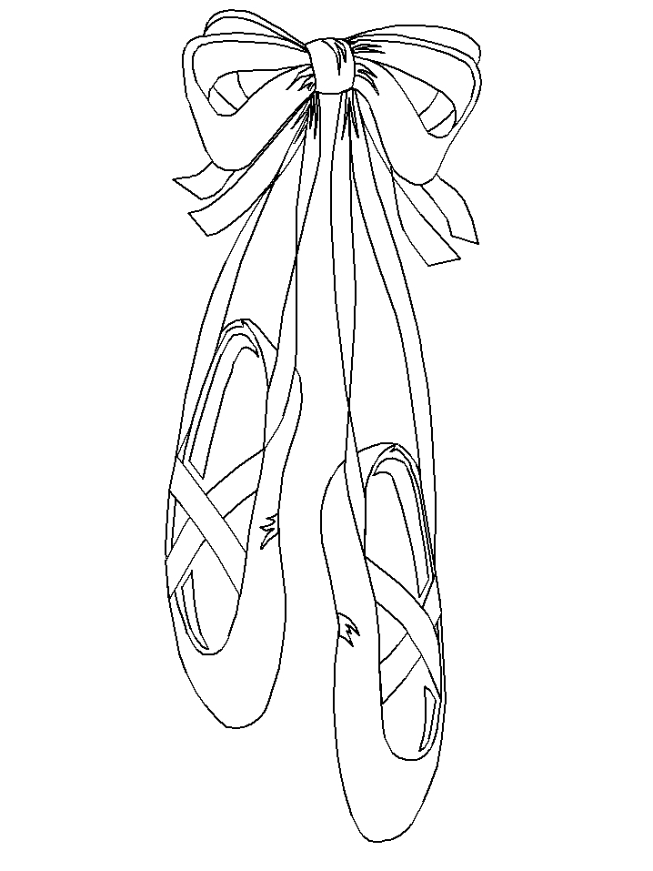 ballet coloring pages - ballett