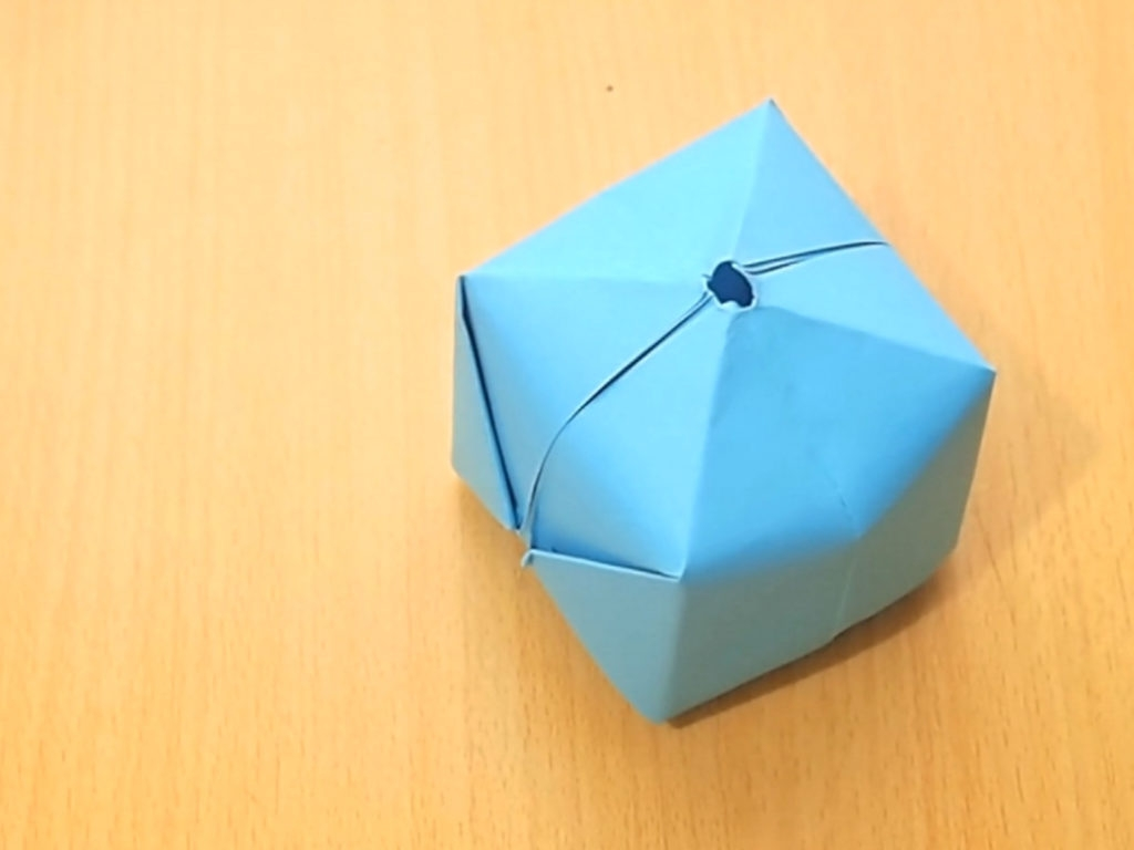 balloon coloring pages - how to make an origami balloon 8 steps with pictures wikihow