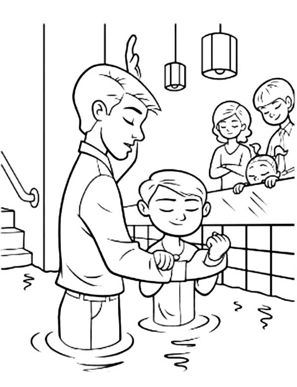 baptism coloring pages - q=my baptism