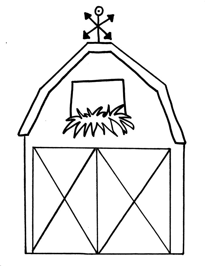 barn coloring pages - barn coloring pages for kids