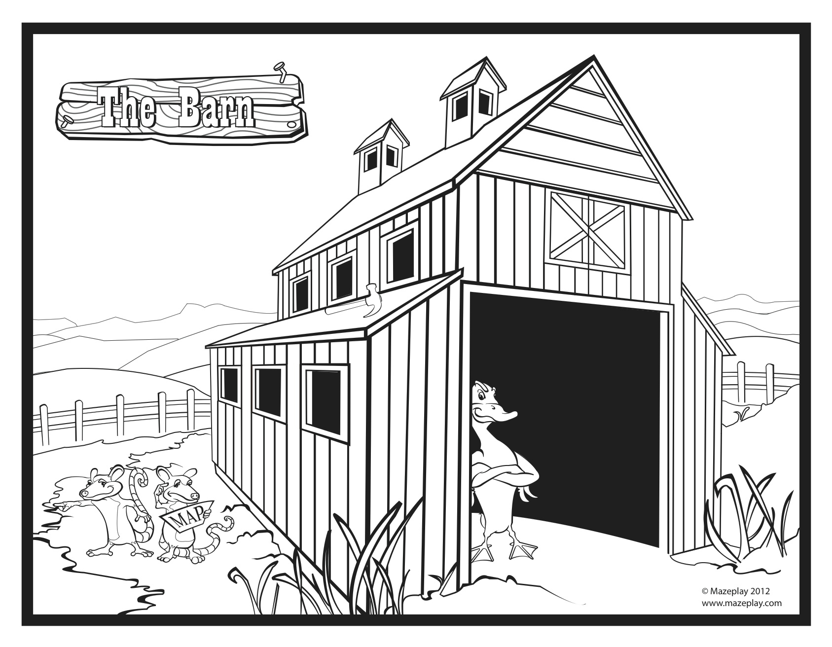 21 Barn Coloring Pages Collections | FREE COLORING PAGES - Part 2