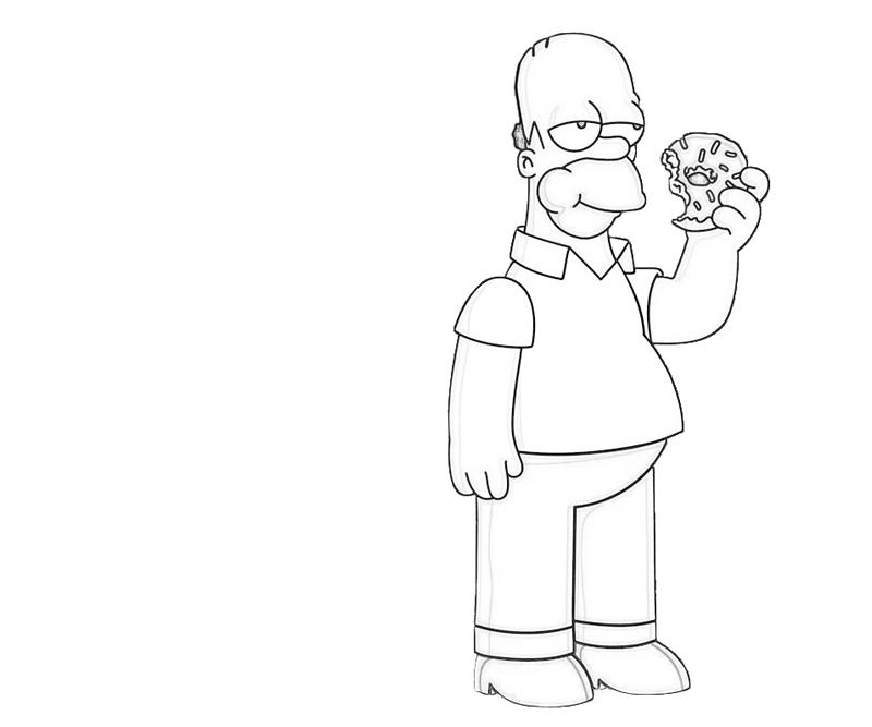 bart simpson coloring pages - 3