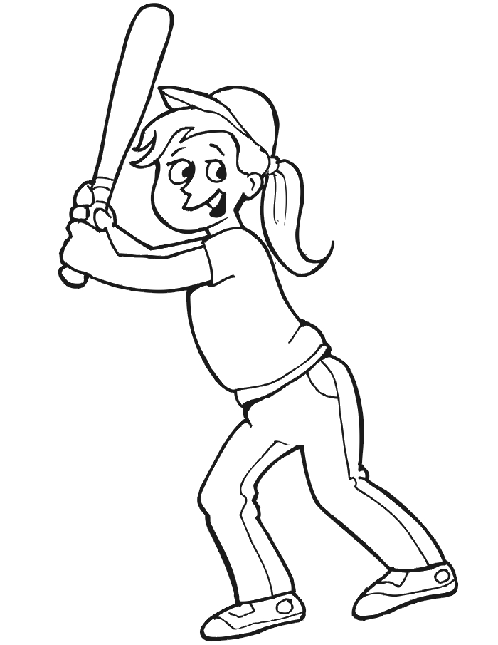 baseball player coloring pages - baseball player coloring page