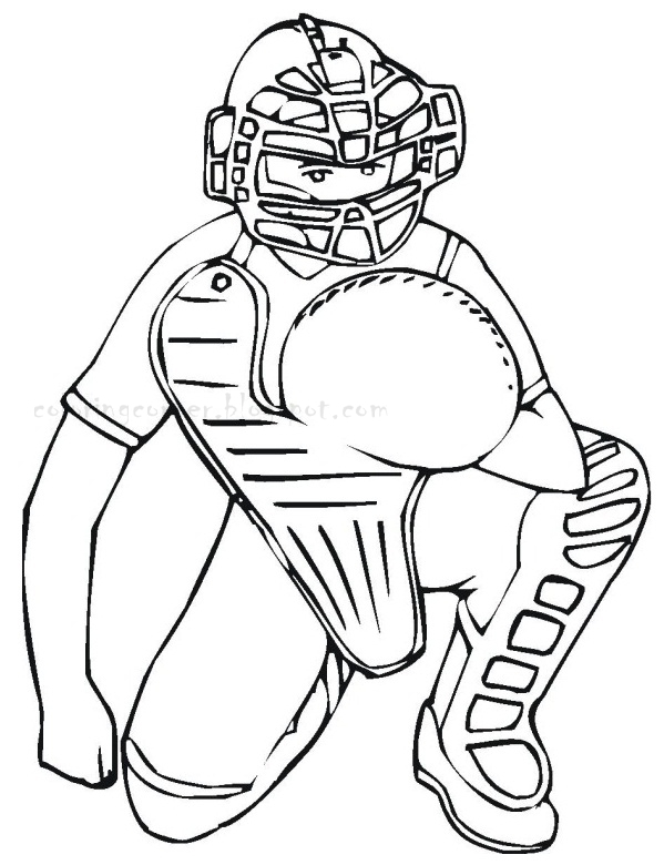 baseball player coloring pages - r=baseball player