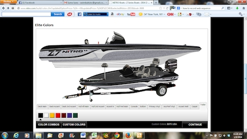 bass coloring pages - build boat promo