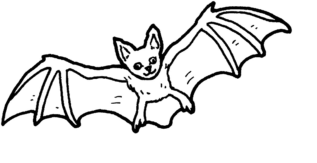 Bat Coloring Pages - Printable Bat Coloring Pages