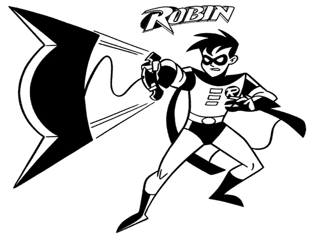 batman and robin coloring pages - batman coloring pages printable