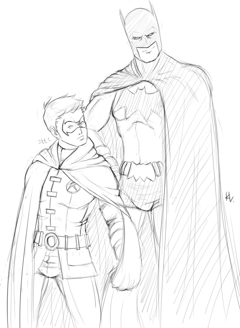 batman and robin coloring pages - batman coloring pages