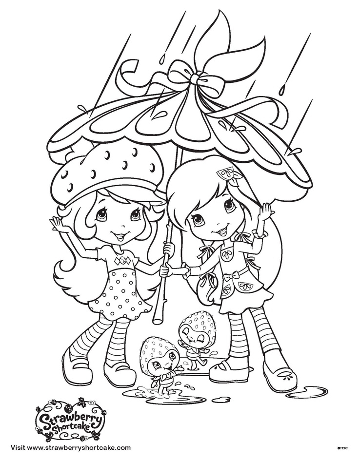 batman coloring pages - printable strawberry shortcake coloring pages