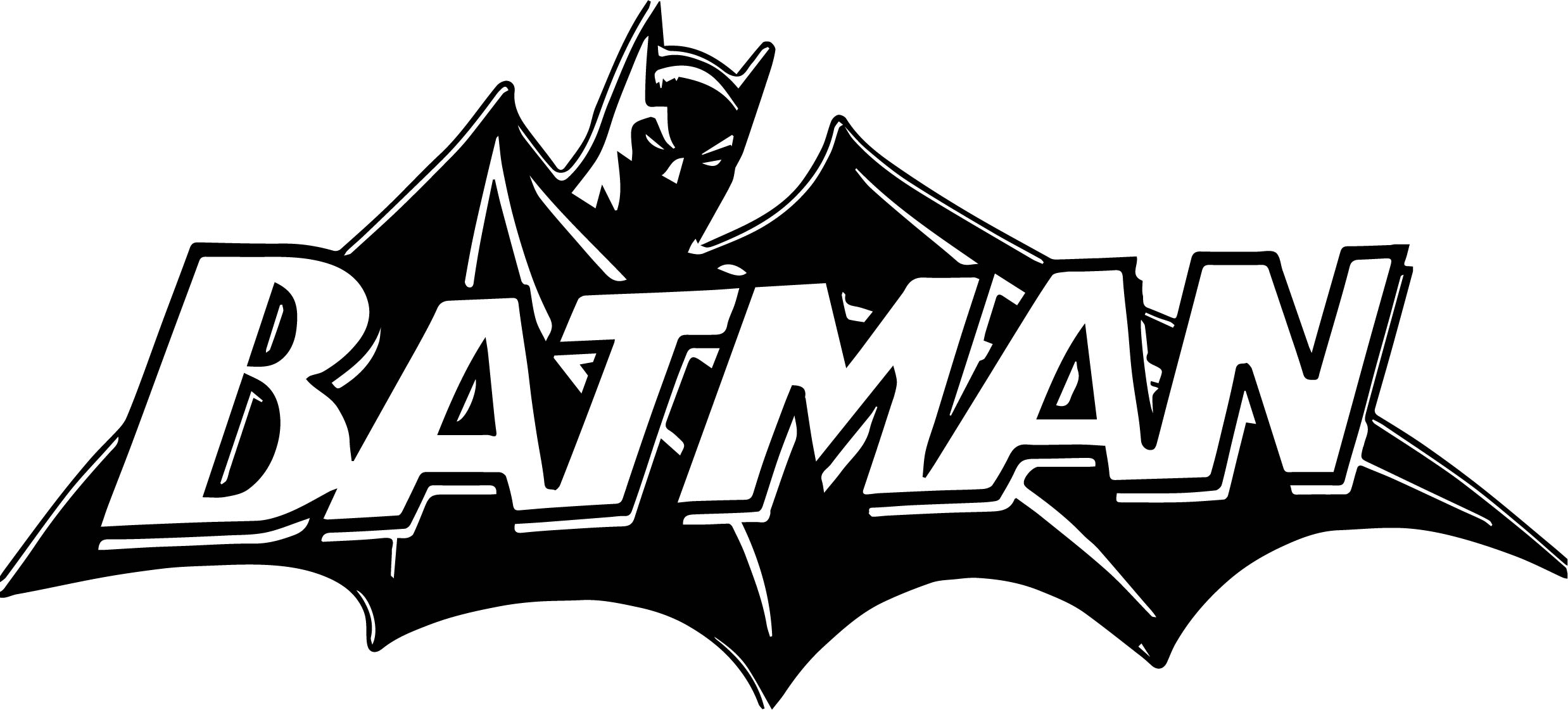 Batman Logo Coloring Pages - Black Batman Logo Coloring Page