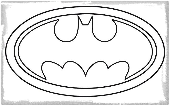 Batman Symbol Coloring Page - Batman Symbol Coloring Pages Clipartsco Sketch Coloring Page