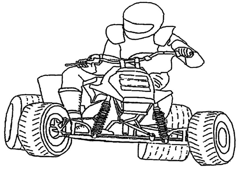 baymax coloring pages - motorrad 12