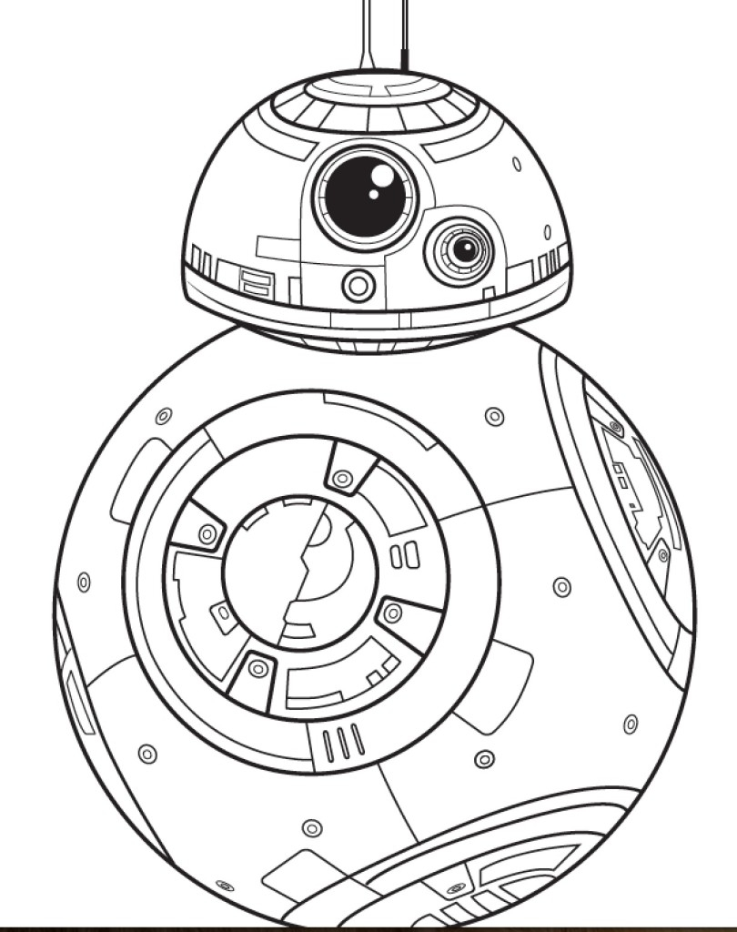 bb8 coloring page - bb8 star wars coloring pages sketch templates