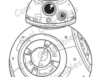 bb8 coloring page bb8 star wars coloring pages sketch templates - Bb 8 Coloring Page