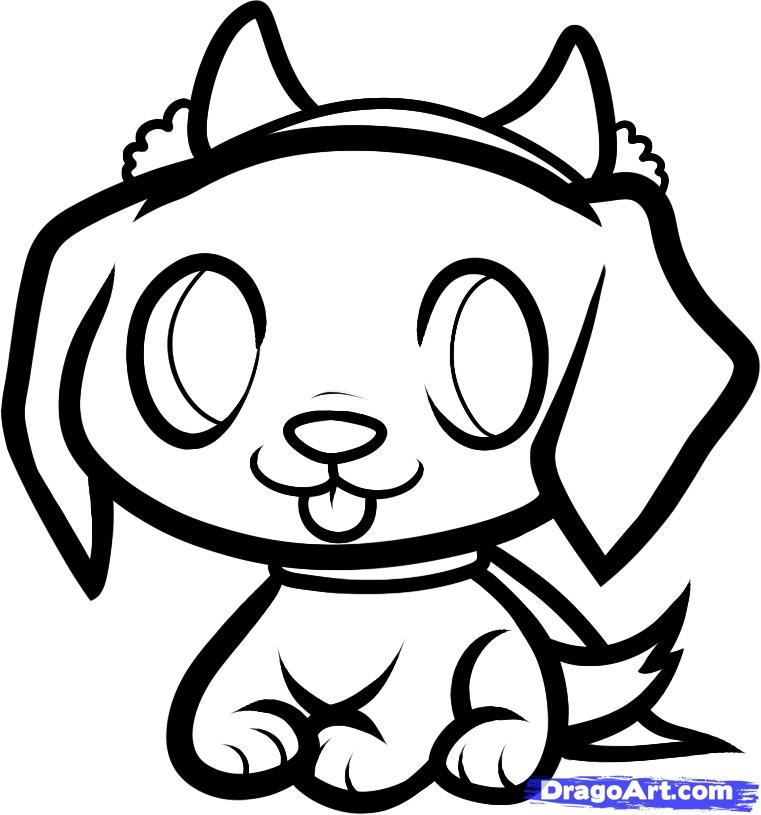 beagle coloring pages - cartoon puppy pics
