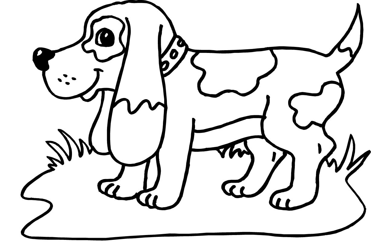 beagle coloring pages - best dog coloring pages christmas tree and t 5045