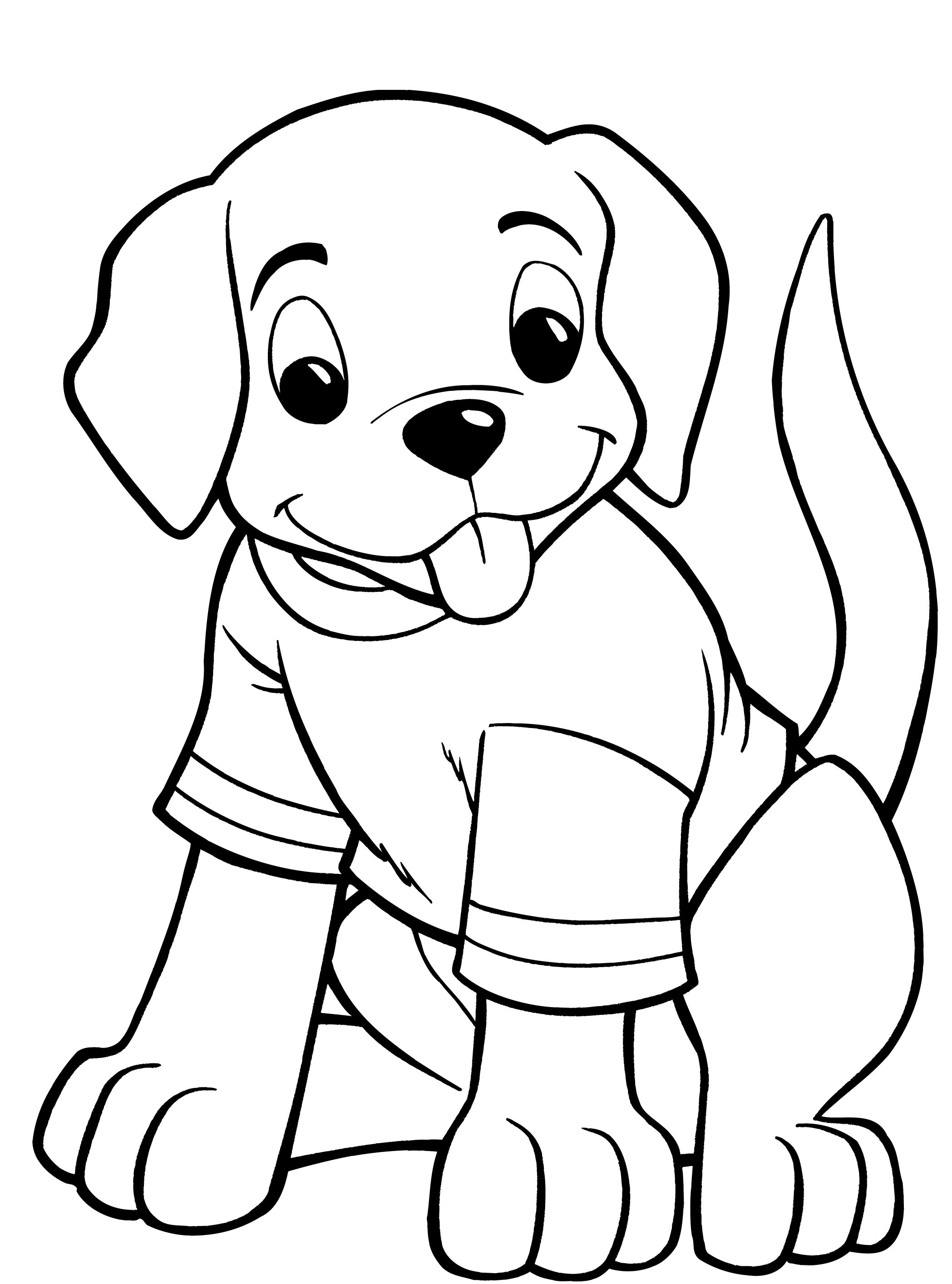 beagle coloring pages - dog coloring pages