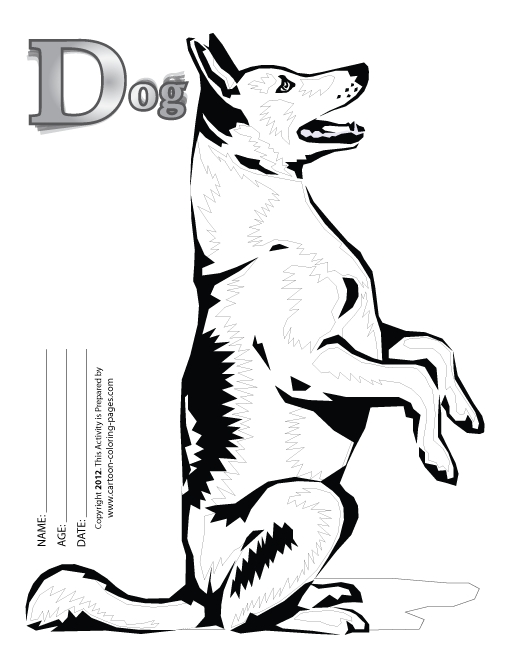 beagle coloring pages - r=realistic dog