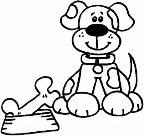 beagle coloring pages - ib p045 4 10
