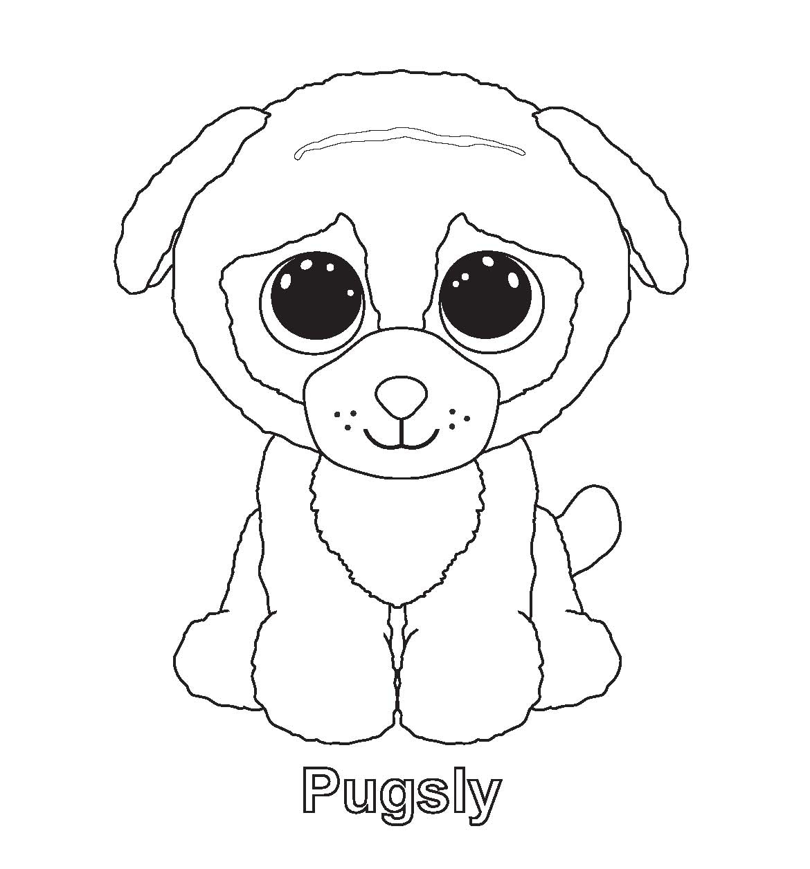 Beanie Boo Coloring Pages - Beanie Boos Coloring Pages Getcoloringpages