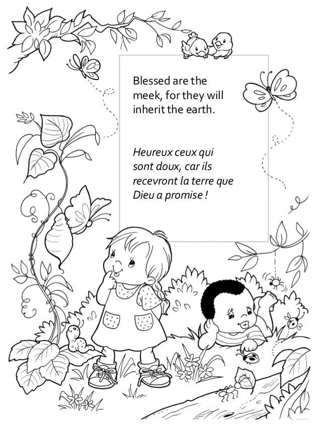 beatitudes coloring pages - r=mount of beatitudes