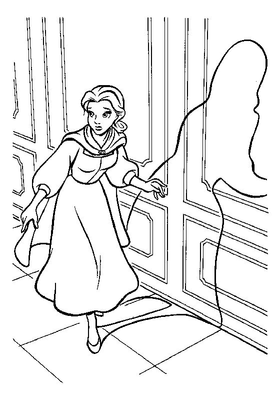 20 Beauty and Beast Coloring Pages Pictures | FREE COLORING PAGES ...
