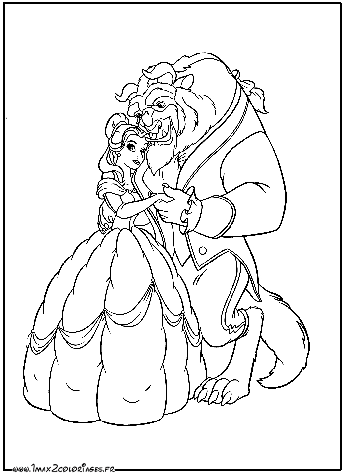 beauty and beast coloring pages - &id film=70&nump=5204