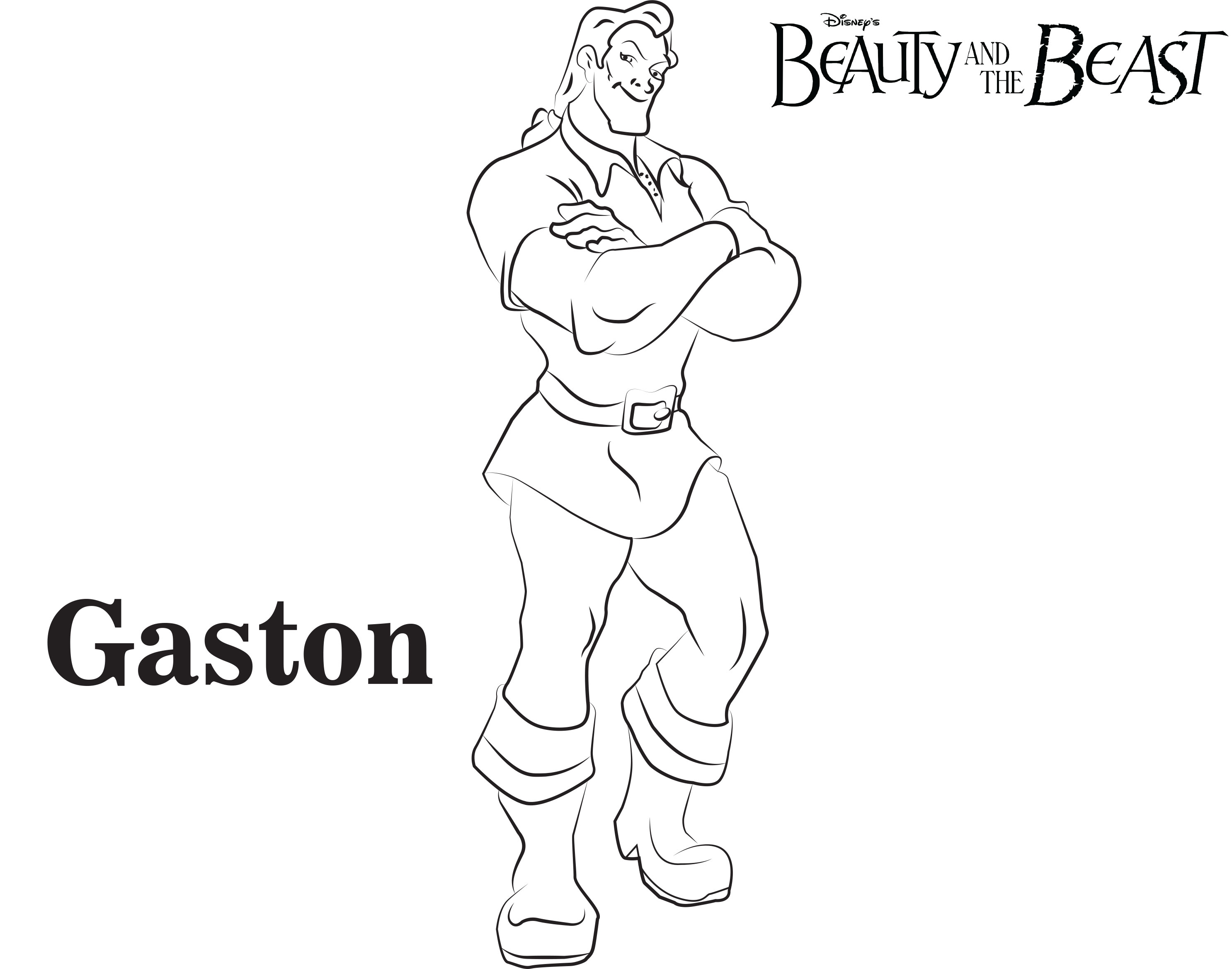 beauty and the beast coloring pages - best cartoon disney beauty beast coloring pages