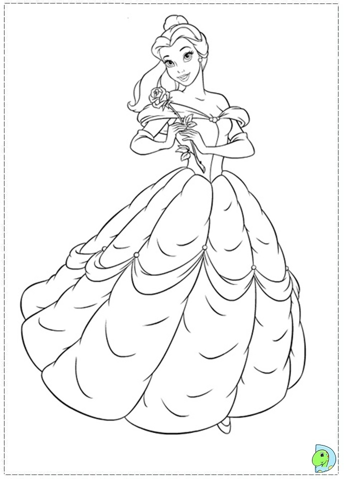 beauty and the beast coloring pages free - beauty and the beast coloring pages to print