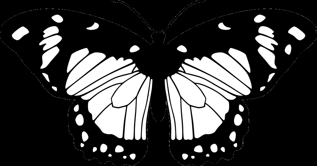beehive coloring page - butterfly black and white clip art