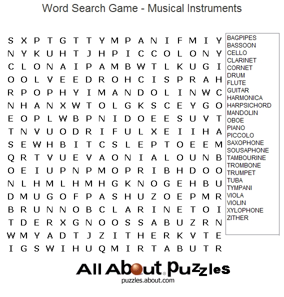 being thankful coloring pages - music word search puzzles