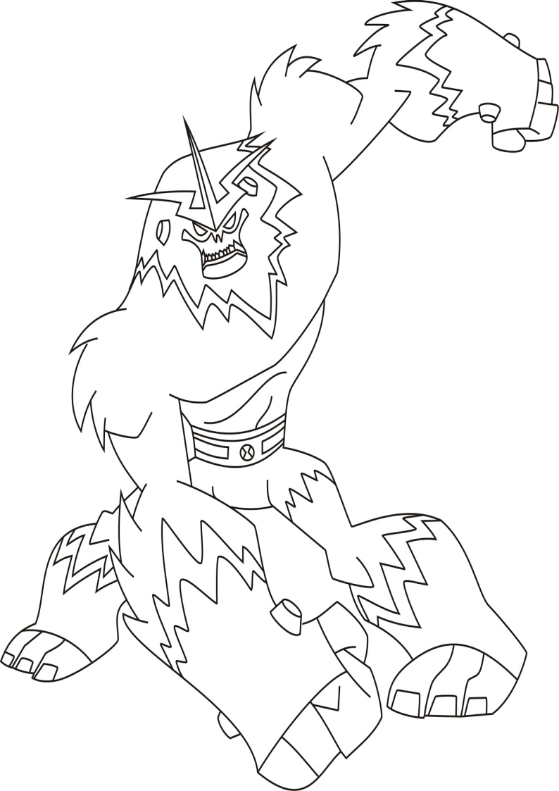 21 Ben 10 Coloring Pages Compilation | FREE COLORING PAGES