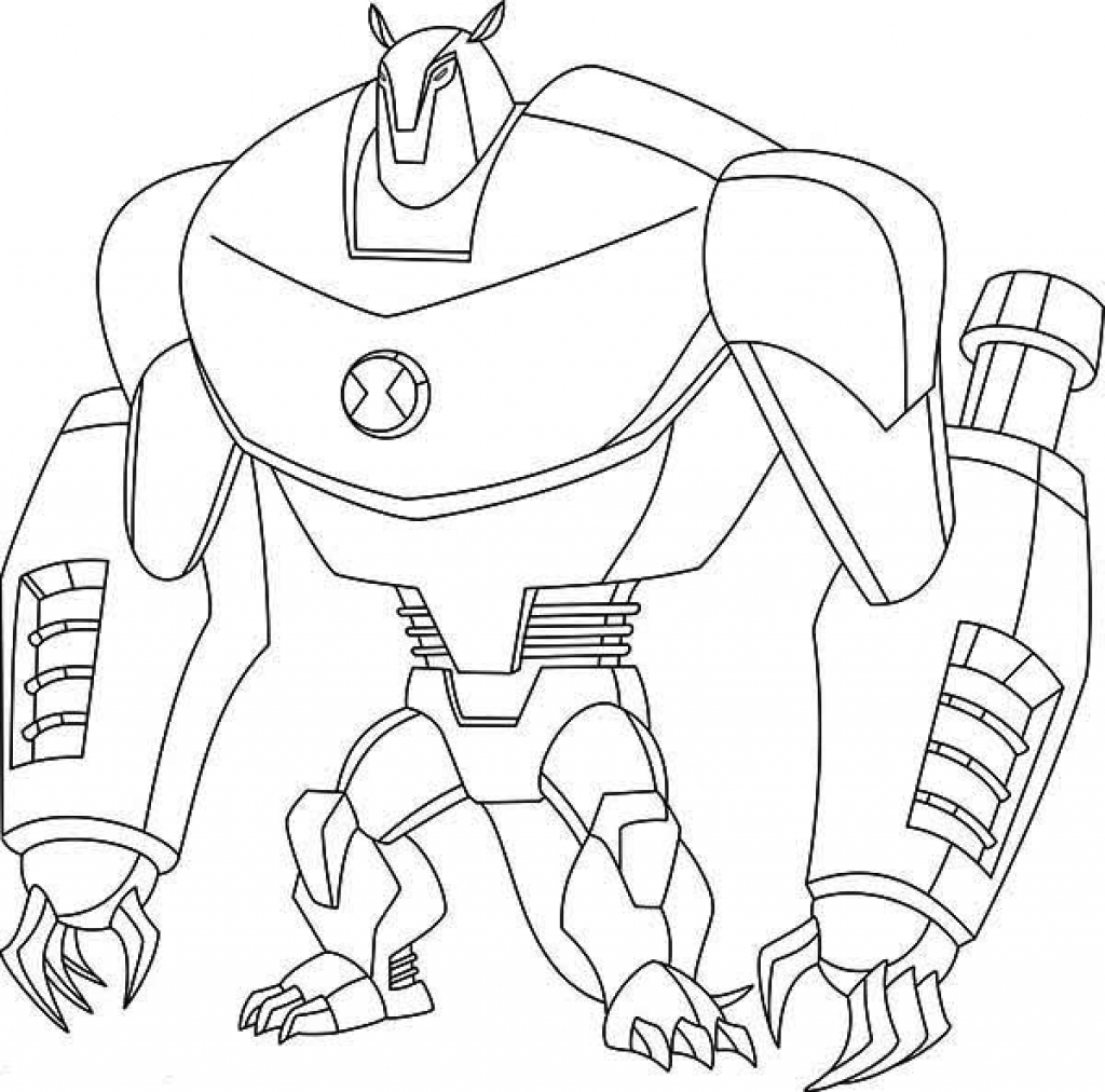 ben 10 coloring pages - coloring suite pages 9451