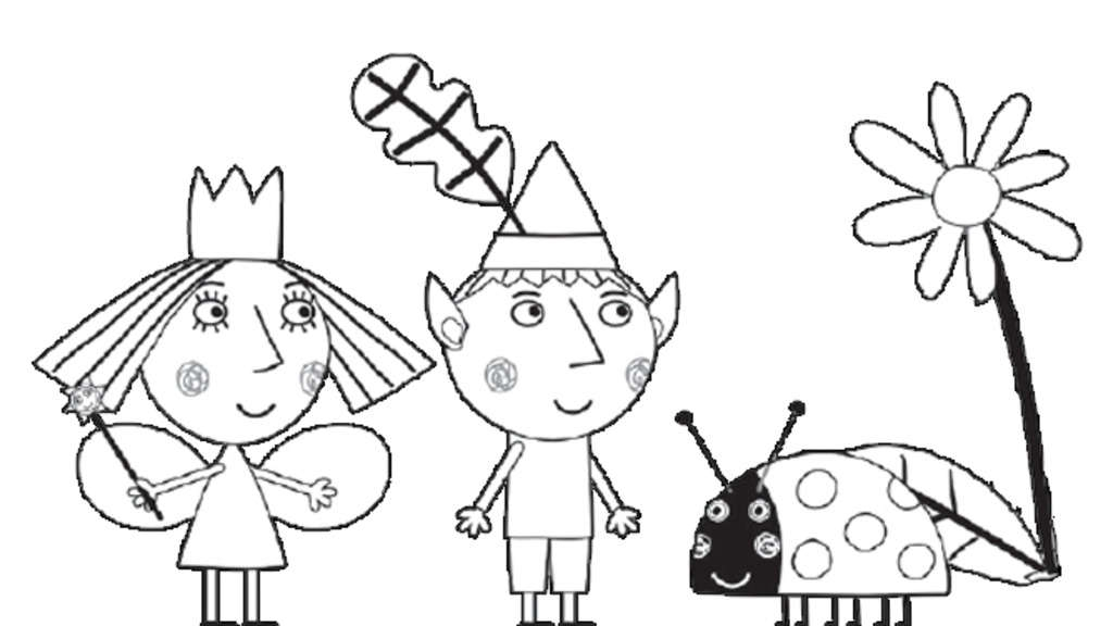 Ben and Holly Coloring Pages - Ben and Holly Coloring Pages Getcoloringpages