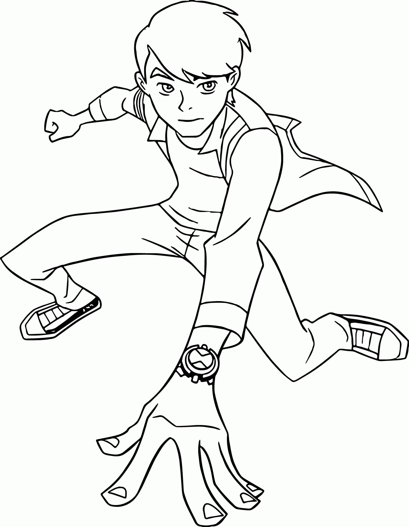 27 Ben Ten Coloring Pages Selection | FREE COLORING PAGES - Part 2
